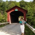 Chiselville Covered Bridge, East Arlington, Vt, a short drive from the inn.