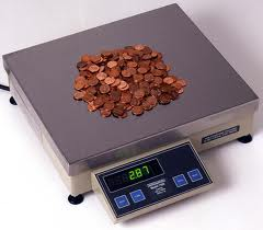 weighing-pennies