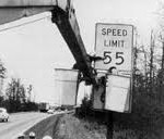55 mph speed sign