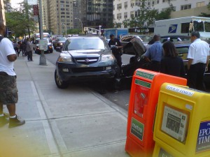 Car Accident Second Avenue