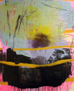 """Yellow Line Explosion"" by Stacey Elder"