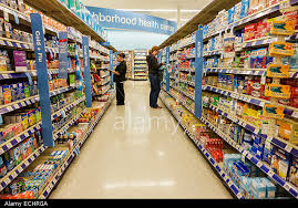 At drug store