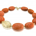 Mediterranean Decay Coral Necklace by Barbara Heinrich