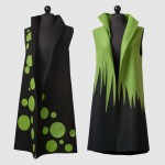 Bern and Trusk vests by Teresa Maria Widuchn