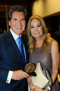 Ernie Anastos and Kathie Lee Gifford