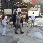 NYC crowd turned