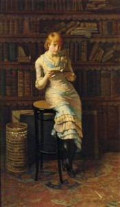 """Thoughts"" by John Henry Henshall, 1883"