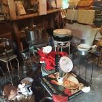 Garage sale kitchen