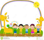 Kids in a frame