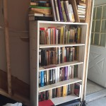 garage sale books turned