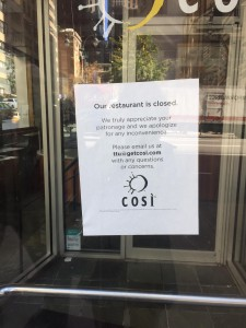 Cosi closed flip