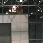 Hard jobs up high at Javits turned