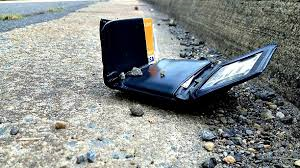 wallet on the street