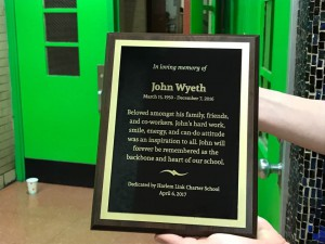 John Wyeth Plaque