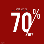 Sale Up to 70 percent 2